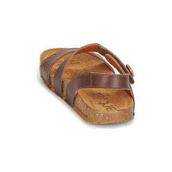 Sandały Art  WE WALK. Brązowe sandały damskie Art, z kauczuku. Za 295,20 zł.
