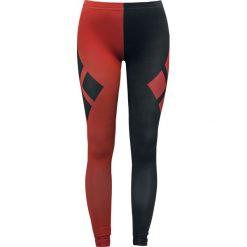 Harley Quinn Check Pattern Symbols Legginsy czerwony/czarmy. Czerwone legginsy we wzory Harley Quinn, m. Za 121,90 zł.