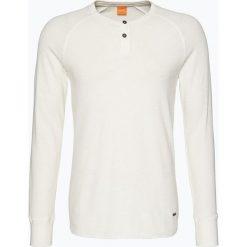 T-shirty męskie: BOSS Casual – Męska koszulka z długim rękawem – Trucker 1, czarny