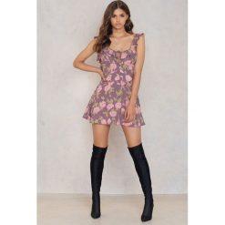 Sukienki hiszpanki: Flynn Skye Sukienka Mini Mimi – Purple,Multicolor