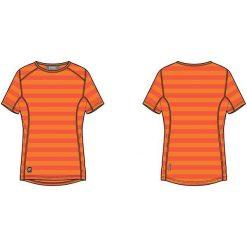 KILLTEC Koszulka damska Susany pomarańczowa r. L (21778). Brązowe bluzki damskie KILLTEC, l. Za 64,70 zł.