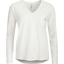 Piżamy damskie: Koszulka piżamowa w kolorze kremowym