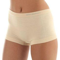 Bokserki damskie: Brubeck Bokserki damskie Comfort Wool beżowe r.M (BX10440)