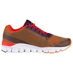 Buty sportowe ze wzorem. Brązowe buty sportowe męskie marki Reebok, z materiału. W wyprzedaży za 219,95 zł.