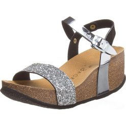 Rzymianki damskie: Sandały w kolorze srebrnym