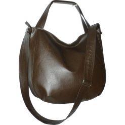 Czekoladowa torba 3w1, czekoladowa torebka. Brązowe torebki worki Pakamera. Za 130,00 zł.