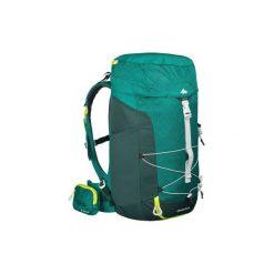 Plecak turystyczny MH100 40 l. Zielone plecaki męskie QUECHUA, z elastanu. Za 169,99 zł.