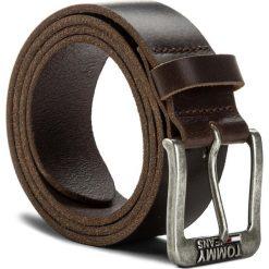 Pasek Męski TOMMY JEANS - Tjm Classic Belt 4.0 AM0AM03363 85 254. Brązowe paski męskie marki Tommy Jeans, w paski, z jeansu. Za 179,00 zł.