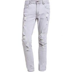 Black Kaviar KOOP Jeansy Slim Fit grey. Szare jeansy męskie Black Kaviar. W wyprzedaży za 219,45 zł.