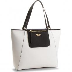 Torebka MY TWIN - Shopping RS8TCP  Bic.Ottico/Nero 01045. Białe torebki klasyczne damskie My Twin, ze skóry ekologicznej, duże. W wyprzedaży za 379,00 zł.