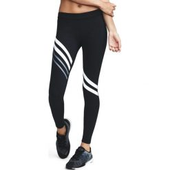 Spodnie damskie: Under Armour Spodnie damskie Favorite Legging-Engineered czarno-białe r. L (1303334-001)