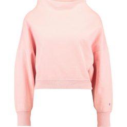Bluzy rozpinane damskie: Champion Reverse Weave CROPPED  Bluza rose