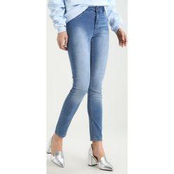 Dorothy Perkins FRANKIE Jeans Skinny Fit midwash blue. Niebieskie rurki damskie Dorothy Perkins. Za 129,00 zł.