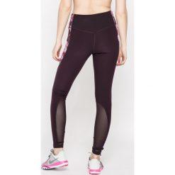 Nike - Legginsy. Szare legginsy sportowe damskie Nike, l, z dzianiny, dri-fit (nike). W wyprzedaży za 99,90 zł.