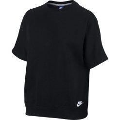 BLUZKA W NSW TOP SS FT. Białe bluzki damskie Nike, z bawełny. Za 118,99 zł.