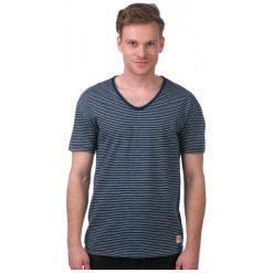T-shirty męskie: Mustang T-Shirt Męski Xl Ciemnoniebieski