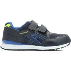 Granatowe Buty Sportowe Kids Zone. Żółte buty sportowe chłopięce marki Born2be, na płaskiej podeszwie, na rzepy. Za 39,99 zł.