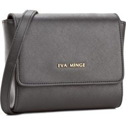 Torebka EVA MINGE - Odalis 2F 17NB1372170EF 401. Czarne listonoszki damskie Eva Minge, ze skóry ekologicznej. W wyprzedaży za 199,00 zł.
