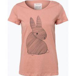 T-shirty damskie: ARMEDANGELS – T-shirt damski — Mari Bunny, pomarańczowy