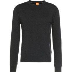 Swetry klasyczne męskie: BOSS Orange Sweter drak grey