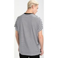 GStar COLLYDE STRIPE Tshirt z nadrukiem white/black. Szare koszulki polo marki G-Star. Za 239,00 zł.
