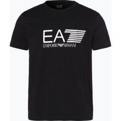 T-shirty męskie z nadrukiem: EA7 - T-shirt męski, czarny