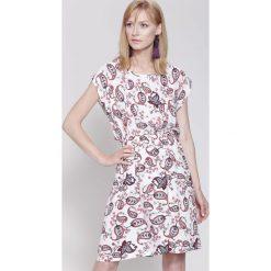 Sukienki: Biała Sukienka Cosmic Girl