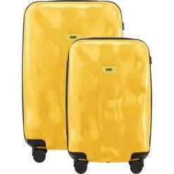 Walizki: Walizki Pioneer w zestawie 2 el. Mustard Yellow