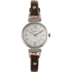 Zegarek FOSSIL - Georgia ES3861 Dark Brown/Silver/Steel. Różowe zegarki damskie marki Fossil, szklane. Za 419,00 zł.