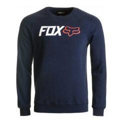 Bejsbolówki męskie: FOX Bluza Męska Legacy Crew L Niebieski
