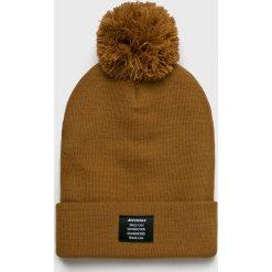 Dickies - Czapka. Brązowe czapki zimowe męskie marki Dickies, na zimę, z dzianiny. W wyprzedaży za 59,90 zł.