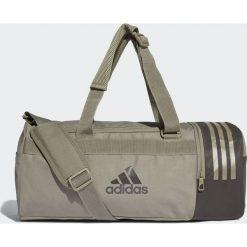 Torby podróżne: Adidas Adidas Torba Convertible 3-Stripes Duffel Small Beżowy
