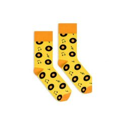 BananaSocks - skarpetki Vinyl. Żółte skarpetki damskie marki Banana socks. Za 27,99 zł.
