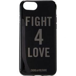 Torebki klasyczne damskie: Zadig & Voltaire FIGHT LOVE  Etui na telefon black