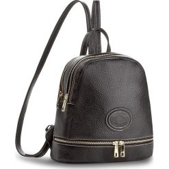 Plecak CREOLE - K10416 Dolaro Czarny. Czarne plecaki damskie marki Creole, ze skóry. W wyprzedaży za 179,00 zł.