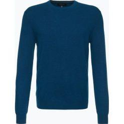 Andrew James - Sweter męski z czystego kaszmiru, niebieski. Niebieskie swetry klasyczne męskie Andrew James, l, z dzianiny. Za 549,95 zł.