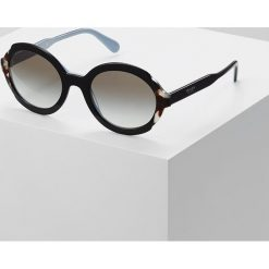 Okulary przeciwsłoneczne damskie aviatory: Prada Okulary przeciwsłoneczne top black/azure/spotted brown