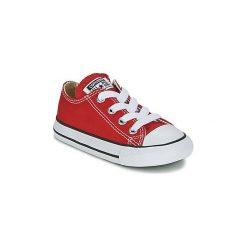 Buty Dziecko Converse  CHUCK TAYLOR ALL STAR CORE OX. Czerwone trampki chłopięce Converse, retro. Za 179,00 zł.