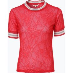 Review - T-shirt damski, czerwony. Szare t-shirty damskie marki Review, l, z tkaniny, z okrągłym kołnierzem. Za 99,95 zł.