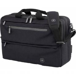 Wenger WindBridge 16'' czarna. Czarne torby na laptopa marki Wenger, z materiału. Za 309,00 zł.