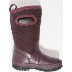 Bogs CRANDALL Śniegowce eggplant. Fioletowe buty zimowe damskie marki Bogs, z materiału. W wyprzedaży za 265,30 zł.