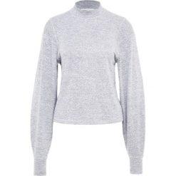 Rag & bone BIGSBY Sweter light heather grey. Szare swetry klasyczne damskie rag & bone, l, z elastanu. Za 739,00 zł.