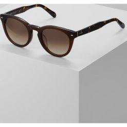 Fossil Okulary przeciwsłoneczne brown. Brązowe okulary przeciwsłoneczne damskie aviatory Fossil. Za 369,00 zł.