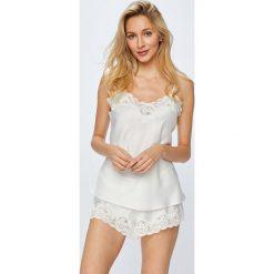 Lauren Ralph Lauren - Piżama. Szare piżamy damskie Lauren Ralph Lauren, l, z materiału. W wyprzedaży za 499,90 zł.