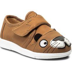 Półbuty EMU AUSTRALIA - Lion Sneaker K11610 Chestnut. Brązowe półbuty damskie skórzane marki EMU Australia. W wyprzedaży za 129,00 zł.