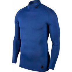 Nike Koszulka męska M NP TOP LS Comp MOCK  niebieska r. XXL (838079 480). Niebieskie koszulki sportowe męskie Nike, m. Za 114,00 zł.