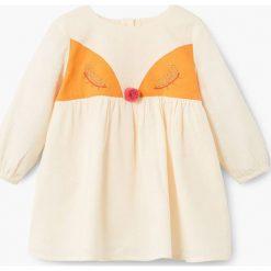 Sukienki dziewczęce: Mango Kids – Sukienka dziecięca Caras 80-104 cm