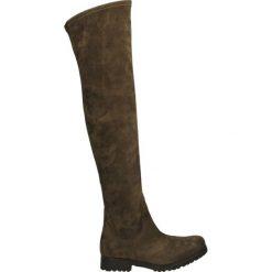 Kozaki - 269 ST-CA MAR. Brązowe buty zimowe damskie marki Venezia, ze skóry. Za 249,00 zł.