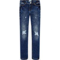 Mayoral - Jeansy dziecięce 140-167 cm. Niebieskie rurki dziewczęce Mayoral, z bawełny. Za 149,90 zł.