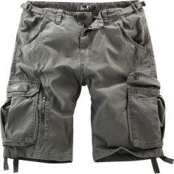 Black Premium by EMP Army Vintage Shorts Krótkie spodenki Vintage oliwkowy. Zielone spodenki i szorty męskie marki Black Premium by EMP, na lato, z aplikacjami, vintage. Za 139,90 zł.